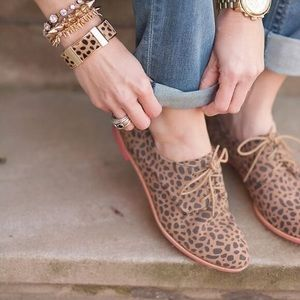 Dolce Vita Cheetah Oxfords